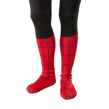 Boys Spider-Man Boot Covers Costume Accessories
