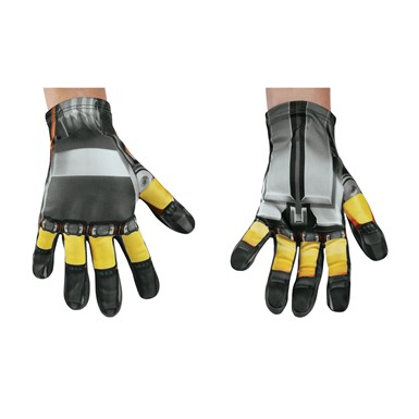 Boys Transformers Bumblebee Costume Gloves