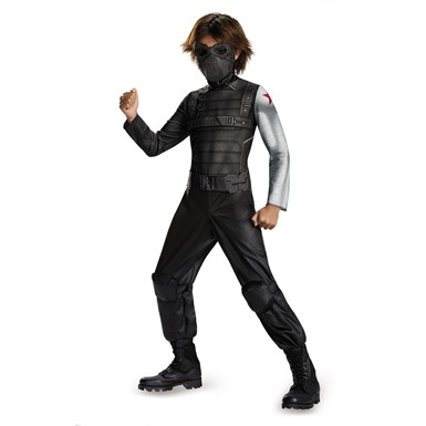 Boys Winter Soldier Classic Halloween Costume