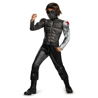 Boys Winter Soldier Classic Muscle Costume