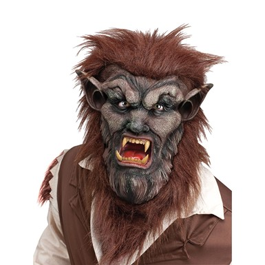 Brown  Wolfman Mask