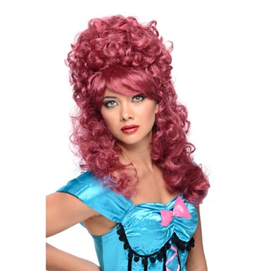 Burlesque Burgundy Wig - Womens
