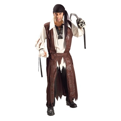 Carribean Pirate Mens Adult Standard Size Costume