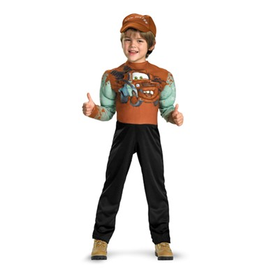 Cars 2 Classic Tow Mater Childs Costume