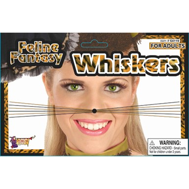 Cat Costume Whiskers Halloween Animal Accessories