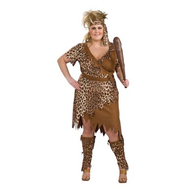 Cavewoman Costume - Plus Size