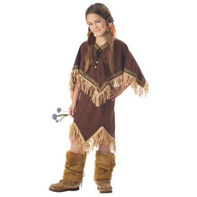 Child American Indian Costume - Princess Wildflower