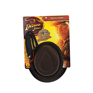 Child Indiana Jones Whip - and Hat