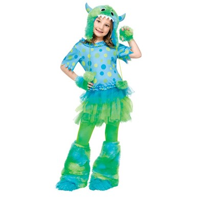Child Monster Miss Costume