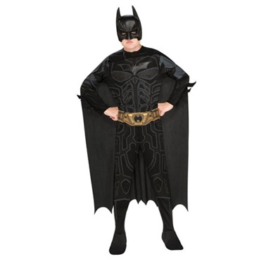 Child Muscle Batman Halloween Costume