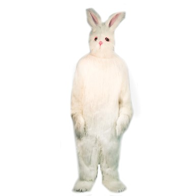 Complete Plush Easter Bunny Costume