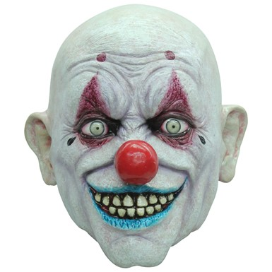 Crappy The Clown Halloween Mask