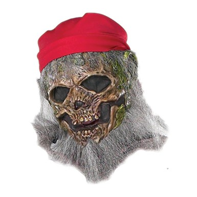Creepeez Deckhand Pirate Ghost Adult Halloween Mask