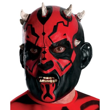 Darth Maul 3/4 Vinyl Star Wars Halloween Mask