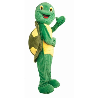 Deluxe Adult Plush Turtle Animal Halloween Costume