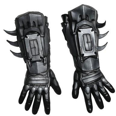 Deluxe Black Batman Gloves