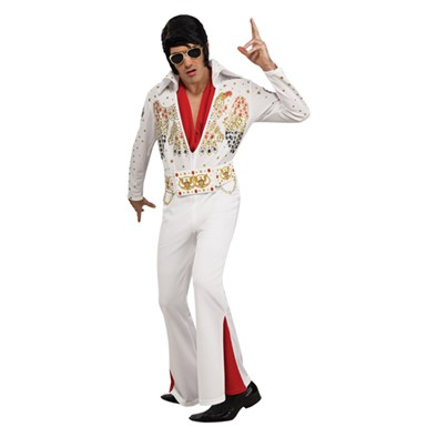 Deluxe Elvis Presley Jumpsuit Adult Halloween Costume
