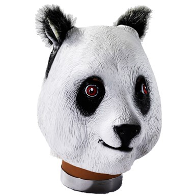 Deluxe Panda Mask Halloween Accessory
