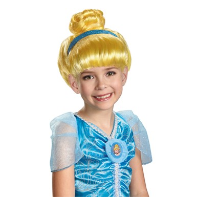 Disney Halloween Cinderella Wig for Child