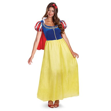 Disney Princess Snow White Costume - Adult Deluxe