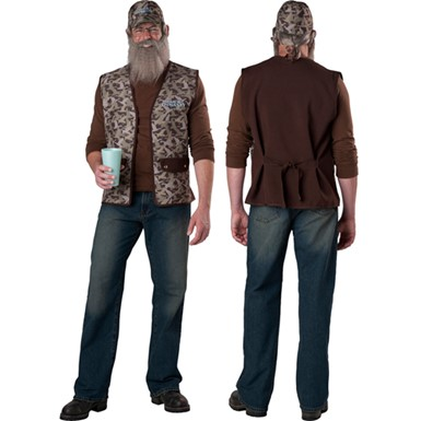 Duck Dynasty Uncle Si Costume Set