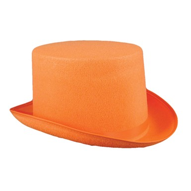 Dumb And Dumber Orange Top Hat - Lloyd