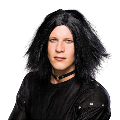 Emo Dark Lord Wig - Black