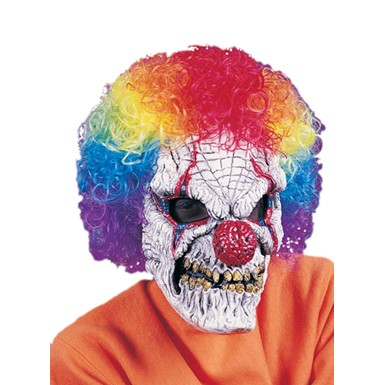 Evil Clown Mask - Fearsome