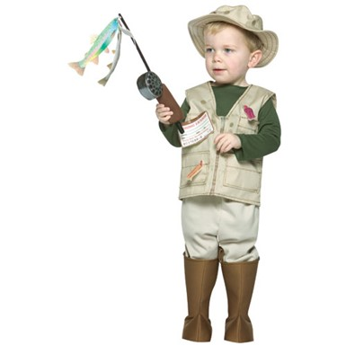 Fisherman Costume - Toddler