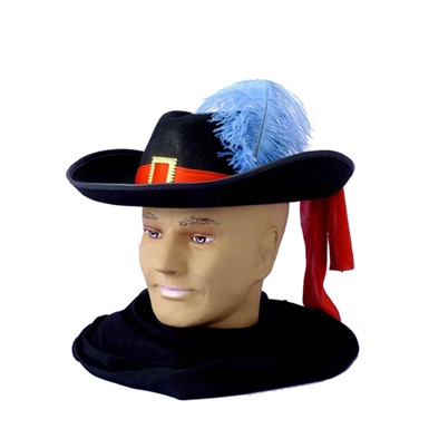 French Musketeer Adult Historical Costumes Hats