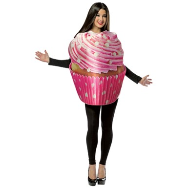 Frosted Cupcake Costume - Adult