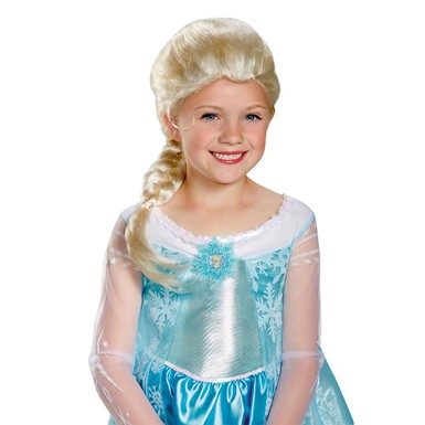 Frozen Girls Elsa Wig
