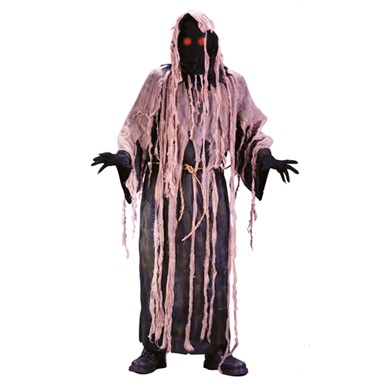 Ghoul Robe Fading Eyes Scary Mens Halloween Costumes