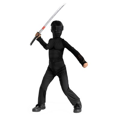 GI Joe Halloween costume - Kids Snake Eyes Classic