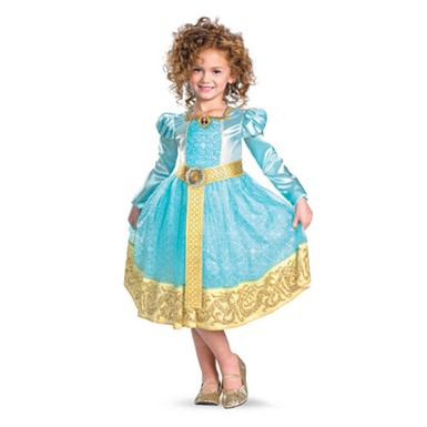 Girls Brave Merida Costume