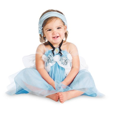 Girls Disney Cinderella Costume