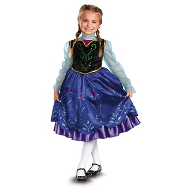Girls Frozen Anna Costume - Disney