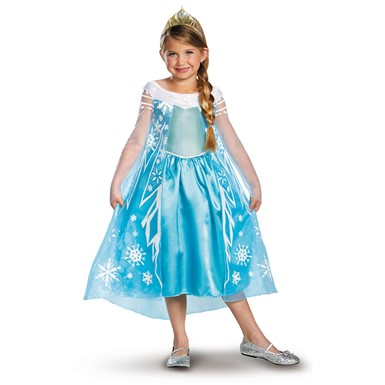 Girls Frozen Elsa Costume - Disney