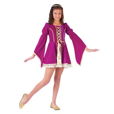 Girls Guinevere Costume