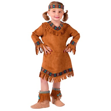 Girls Indian Halloween Costume