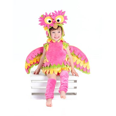Girls Infant Holly Owl Costume