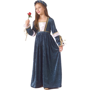 Girls Juliet Costume - Beautiful Juliet
