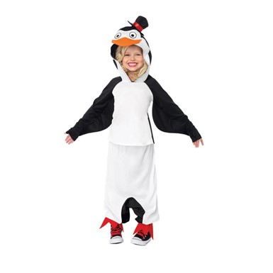 Girls Madagascar Skipper Penguin Costume