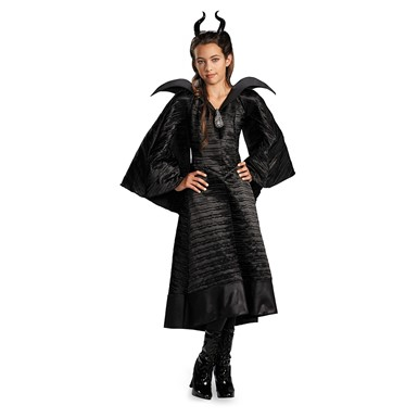 Girls Maleficent Christening Deluxe Gown Costume