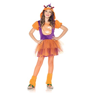 Girls Misbehaving Monster Costume