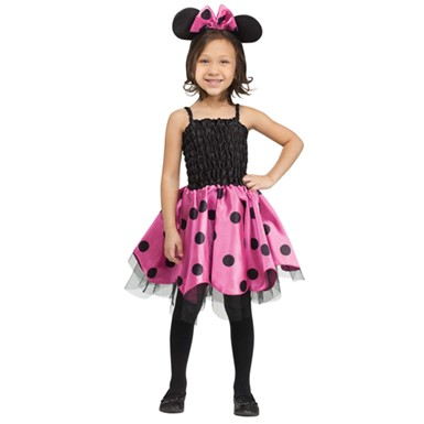 Girls Missy Mouse Costume