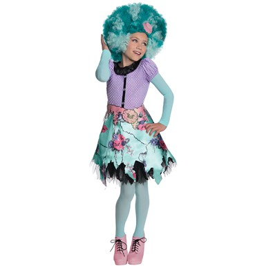Girls Monster High Honey Swamp Costume