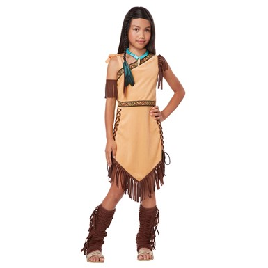 Girls Native American Indian Princess Costume