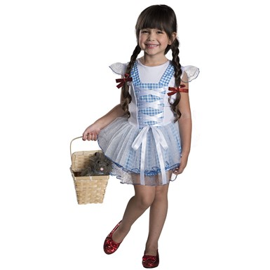 Girls Oz Dorothy Tutu Costume