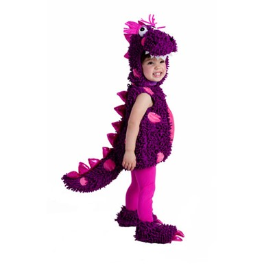 Girls Paige the Dragon Purple Infant Halloween Costume